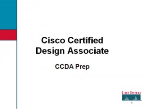 CCDA Prep (PowerPoint files)