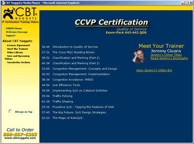 WWW DEFAULT AM » Blog Archive » CCVP CBT