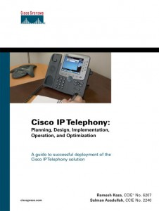 Cisco IP telephony: planning, design, implementation, operation, and optimization Ramesh Kaza, Salman Asadullah